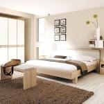 Вибір кольору спальні - світло-бежевий