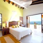 Сучасна спальня в лимонному кольорі