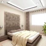 Спальня в кавовому кольорі