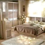 Спальня в кольорі капучіно