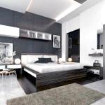 Чорно-біла спальня