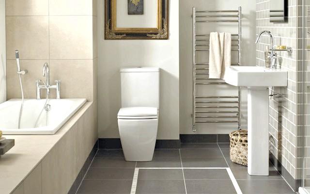 Фото - Оформляємо інтер'єр суміщеної з туалетом ванної кімнати