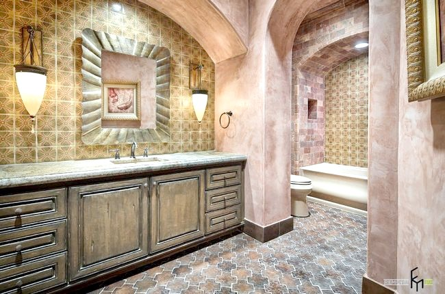 Ванна в марокканському будинку