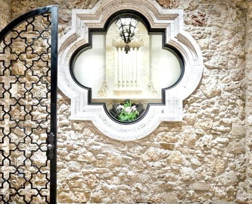 Прикраса фасаду в марокканському стилі