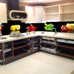 Кухонний фартух з фотошпалерами