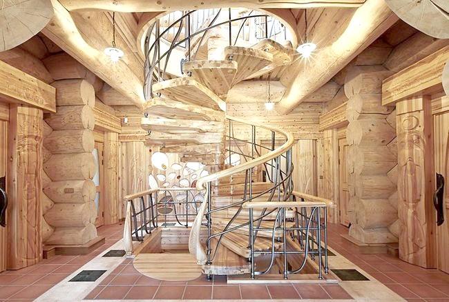 Фото - Принадність вишуканих витків: гвинтові сходи