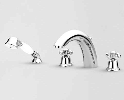 Фото - Змішувач на борт ванни: нові тенденції