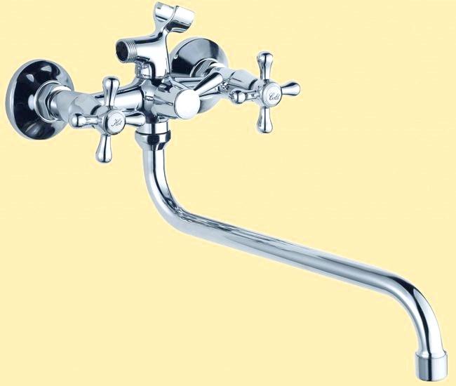 Фото - Змішувачі для ванної: особливості вибору та пристрої