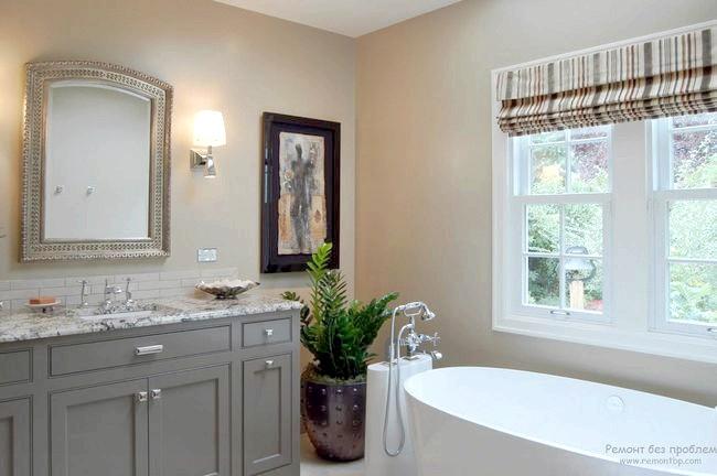 Озеленення ванної кімнати