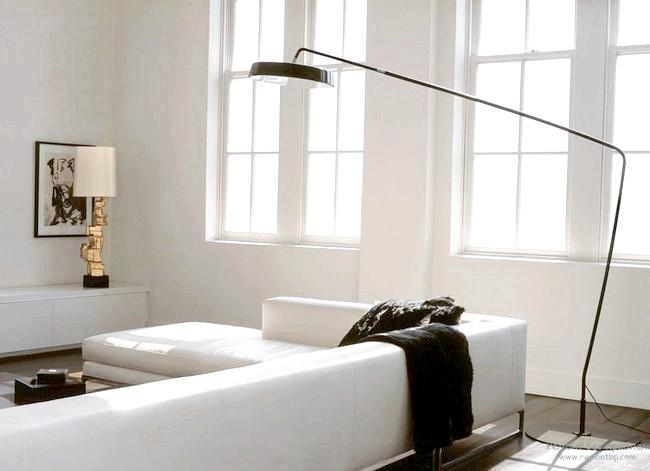 Фото - Торшери в інтер'єрі: оригінальний дизайн підлогових світильників