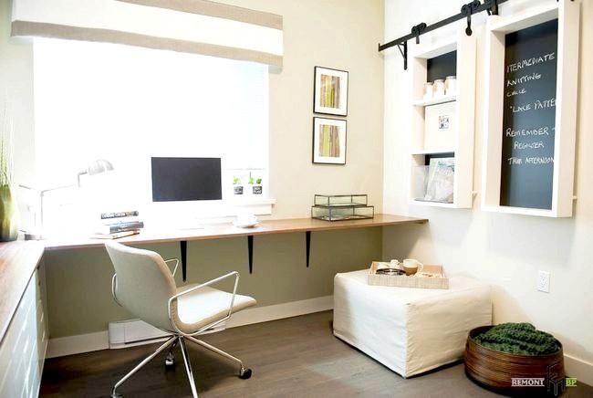 Фото - Кутовий стіл в інтер'єрі квартири