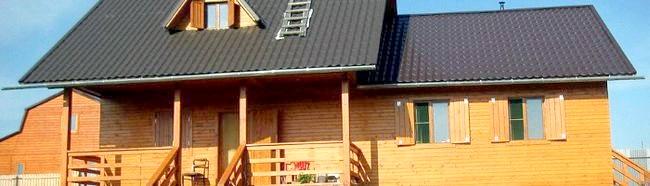 Фото - Утеплювач для дерев'яного будинку