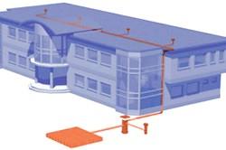 Пристрій водостічної системи плоскої покрівлі