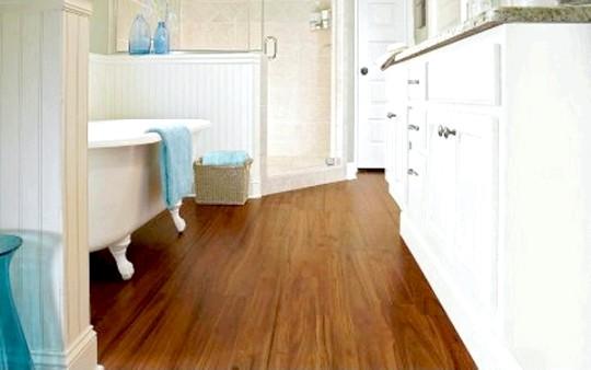 Фото - Водостійкий ламінат для ванної: характеристики й особливості монтажу