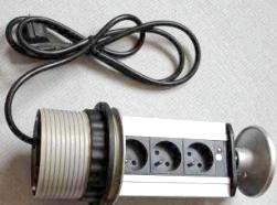 Фото - Висувні блоки розеток: практика використання і підключення