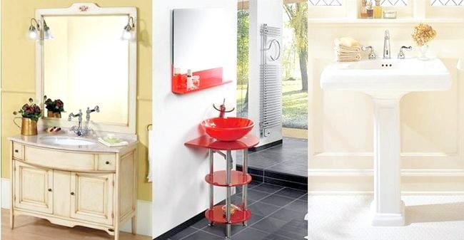 керамічні раковини для ванної