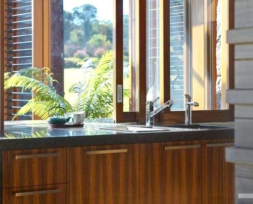 Японська мийка в кухні