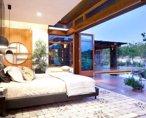Спальня на веранді
