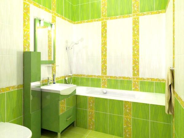 Фото - Зелена ванна кімната: еко-стиль