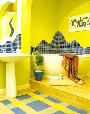 Фото - Жовта ванна кімната: яскравий дизайн